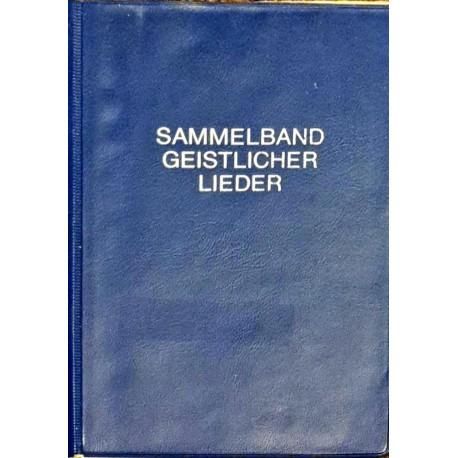 SAMMELBAND GEISTLICHER LIED - Liederbuch