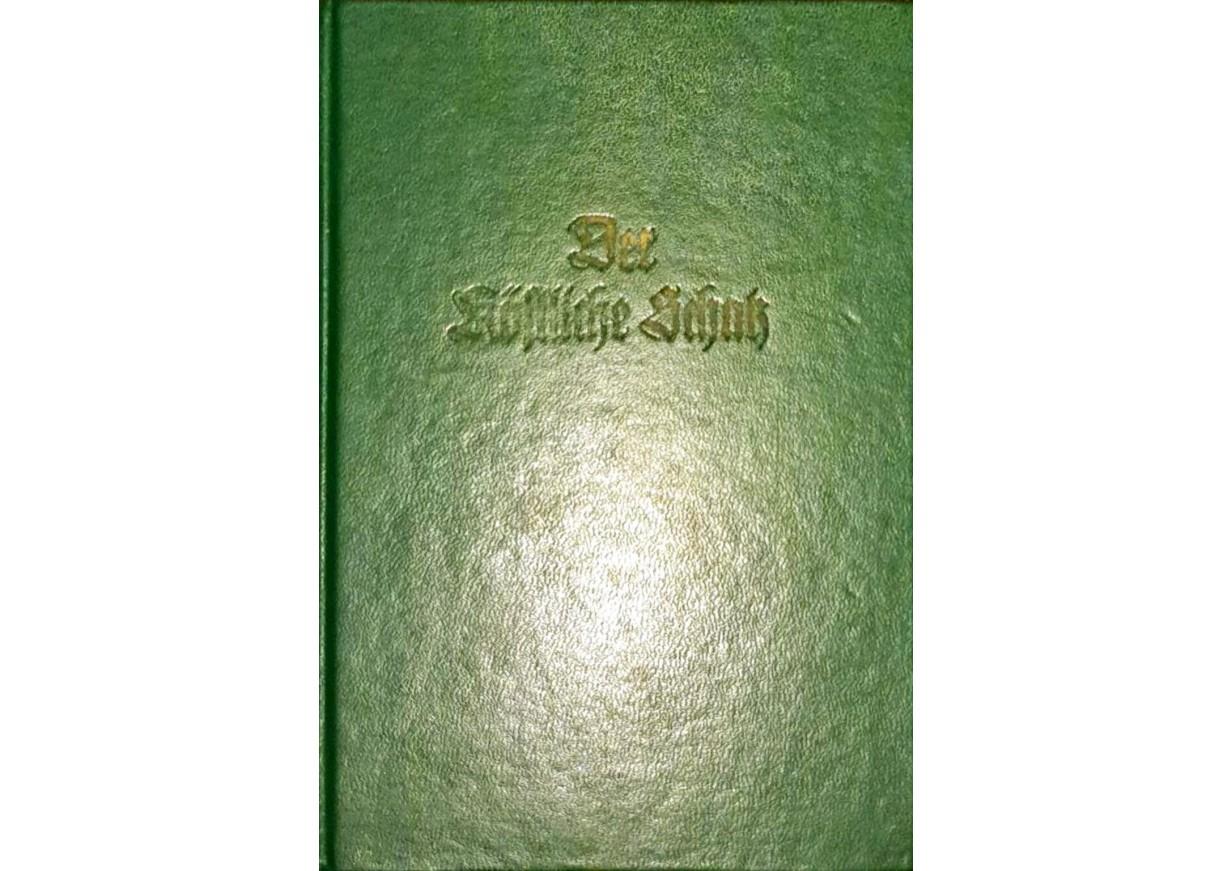 DER KÖSTLICHE SCHATZ  - Liederbuch in gothischer Schrift